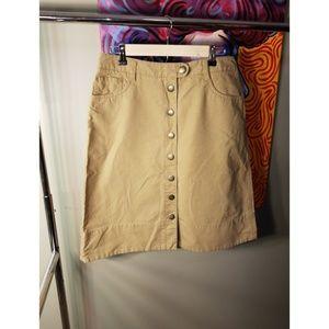 Khaki Skirt by Tommy Hilfiger